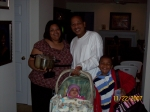 Robert L. Harrison and family