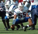 Raymond Harrison #55 South Carolina State University Bulldogs