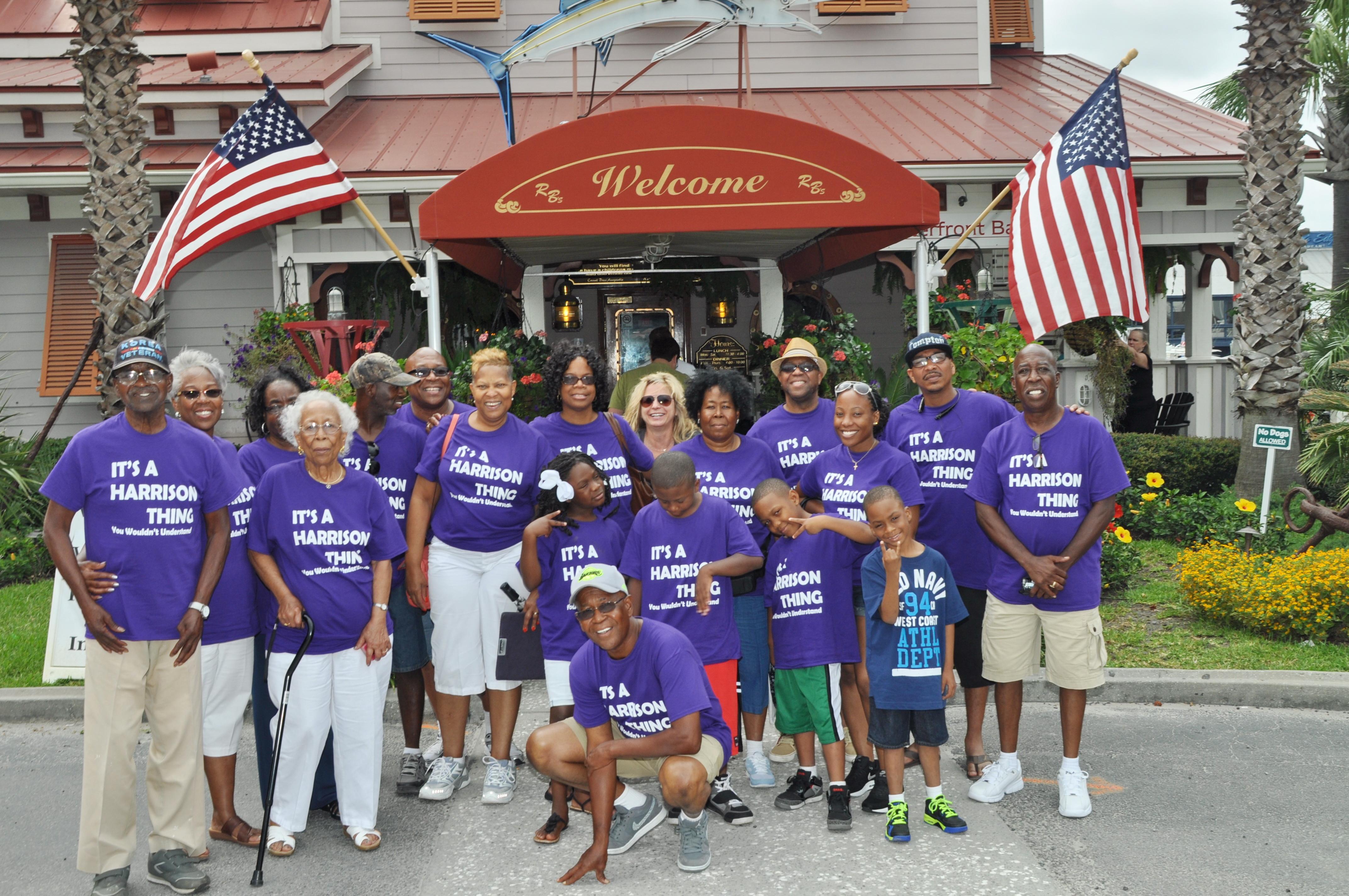 Harrison Family Reunion Its A Family Affair